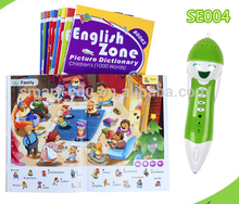 Learning English Conversation with Talking Pen for learning