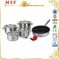 MSF Magic Cooking 9pcs Stainless Steel Cookware In UAE MSF-3935
