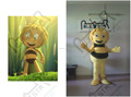 character customized bee mascot costumes