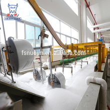 Automatic fluidized bed powder coating equipment for rice cooker