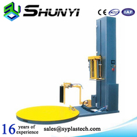 Super rapid pallet China wrapping machine