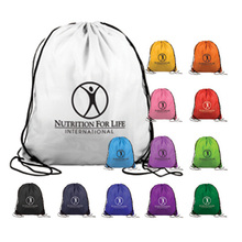 2016 Manufacturer top quality custom polyester drawstring backpack