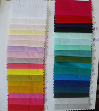 Woven fabric Plain Dyed 60s Cotton Poplin Fabric Factory Price