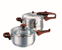 induction gas stainless steel pressure cooker cookware sets