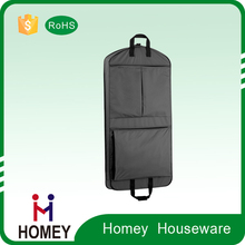Factory Price New Designer Non Woven Travel Hanging Protecter Cover Clothes Garment Bag