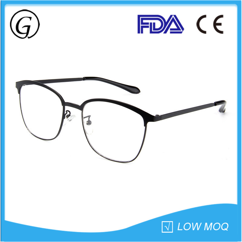 FashionRectangular Eyeglasses Frame eyewear Optical with Nose Pad