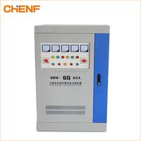Automatic 60kw industrial voltage stabilizer 3 phase digital voltage regulator