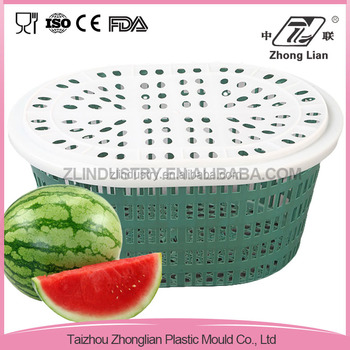 Wholesale home application elliptical vegetable storage basket with holes