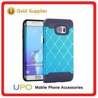 [UPO] Wholesale Shockproof Combo Armor Hard Plastic Mobile Phone Cover Case for Samsung Galaxy S6 Edge Plus