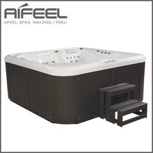 2017 new china home freestanding acrylic hydrotherapy outdoor 5 person whirlpool sex massage spa