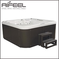 china home freestanding acrylic hydrotherapy outdoor 5 person whirlpool sex massage spa