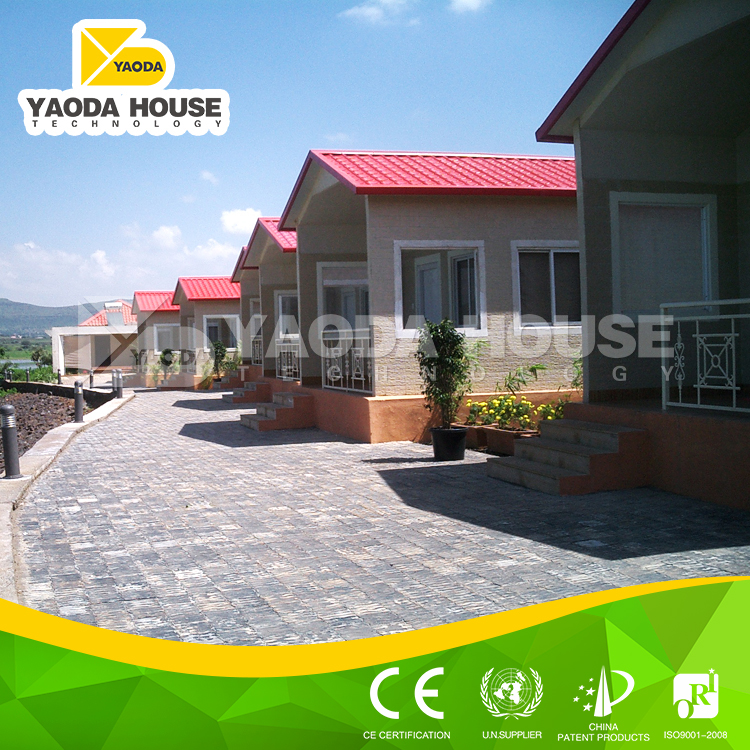Yaoda concrete panel monier villa roof tile
