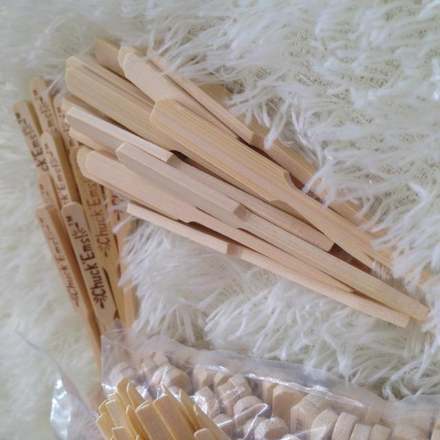 Cheap price custom-made sushi teppo bamboo sticks