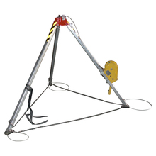CE Certificated Portable Flexible Hand Operated Safety Protective Rescue Tripod