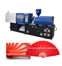 High Speed Carved Paper Hand Fan With Single Side Printing Plastic Injection Moulding Machine Price