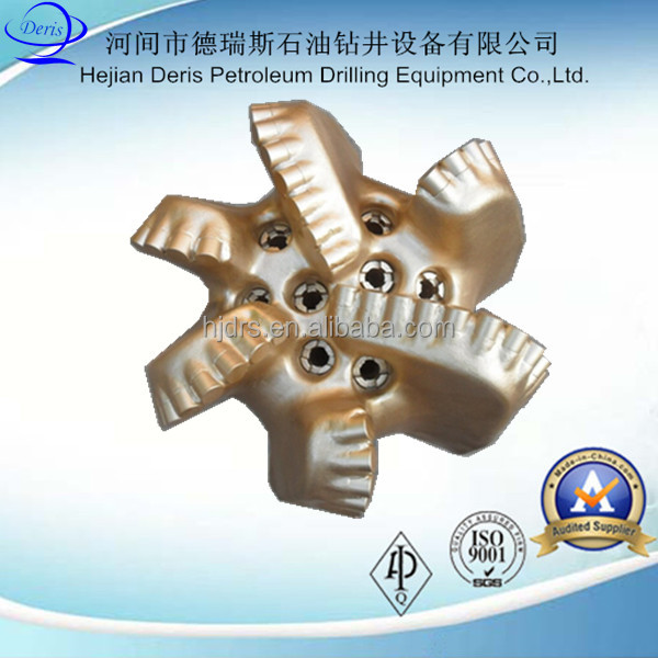 "China supply Deris oilfield well drilling equipment 12 1/4"" PDC drill bits with diamond cutter"
