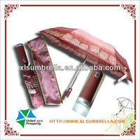 led umbrella is 3 auto open and colse umbrella