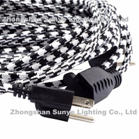 UL Approval American Fabric Wire extension Cord