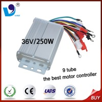 9 tube 36V/250W the best motor controller for 3 wheel electric bicycle