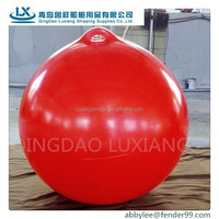 luxiang brand hot sale A50 pvc marine inflatable buoy float for fishing