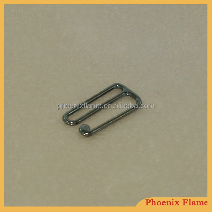 fashion metal hook buckle for bra accessories