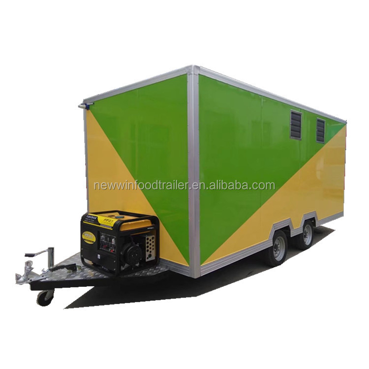 sales promotion mobile coffee kiosk food trailer