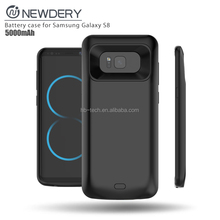 External Backup Battery Charger Case For Samsung S8 Battery Charging Case