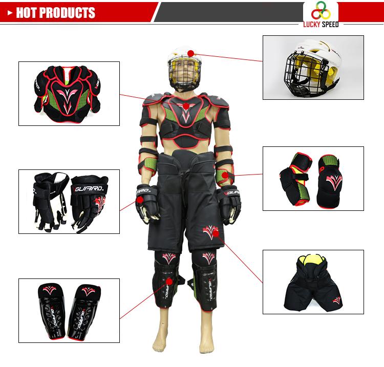 Mais recente Design de Moda Multi Cores luvas de goleiro de hóquei em patins