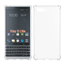 Four Corner Anti Shocks TPU <strong>Case</strong> For <strong>BlackBerry</strong> Key2 LE