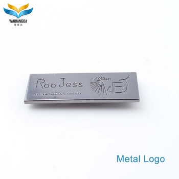 wholesale tiny custom engraved jewelry tag with engraved letter