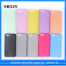 New Arrival Hard PC Material Ultrathin Cover For iphone 5C iPhone5C i phone 5 C New Fashion Design Free sample