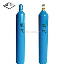 ZP standard mini medical oxygen cylinder made of high quality steel for repeatedly keeping oxygen for medical use