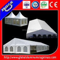 SGS Approved 5x5M pagoda tent,6x12m aluminum wedding tent, 30x20m aluminum exhibition tent