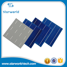 Large Stock ! poly crystal silicon 156*156mm 3BB/4BB solar cell