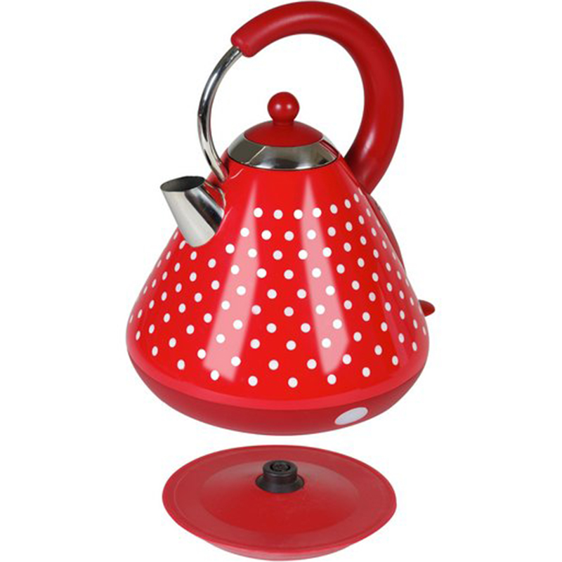 red color electrical kettle