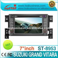 hot suzuki Grand Vitara car multimedia DVD with GPS, canbus, steer wheel control...