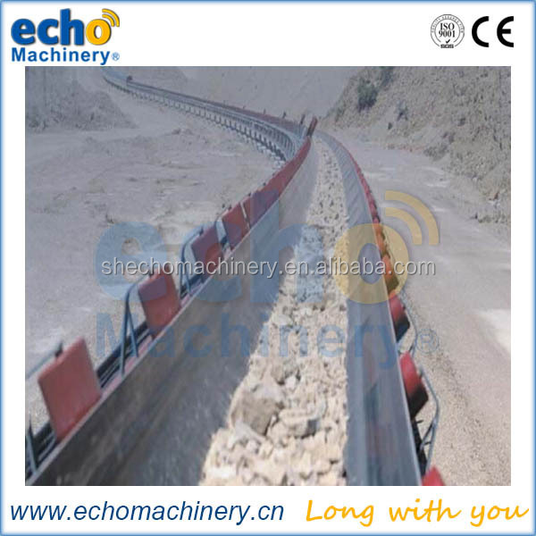 heavy duty conveyor belt for stone crushing plant