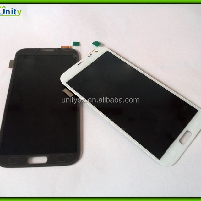 For Samsung Galaxy Note 2 LCD + Touch Screen Digitizer Assembly - White