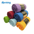 wholesale yoga mat towel mat silicon dots absorbent quick dry yoga towel non slip microfiber