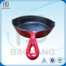 Non-stick paiting enamel cast iron cooking cookware set