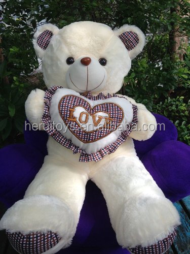 2014 fashional cheap giant teddy bear plush toys&kind gifts for Christmas day