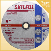 250mm Abrasive Cutting Wheel Type 41 reinforced resin bond bore size 25.4mm for metal and stainless steel