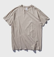 blank oversized tshirt wholesale men no label different color