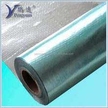 Antiglare Double Side Aluminum Foil Coated Woven Fabric Roofing