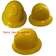 Full brim cowboy safety helmet with CE certificate