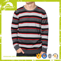 Factory custom sweater man Stripe Sweater