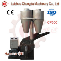 High Efficiency Wood Hammer Mill Crusher /Wooden Chips into Sawdust Making Machine, CF500