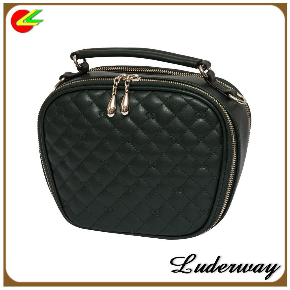 Ladies Leather Cosmetic Bag china toilet bags women 2015