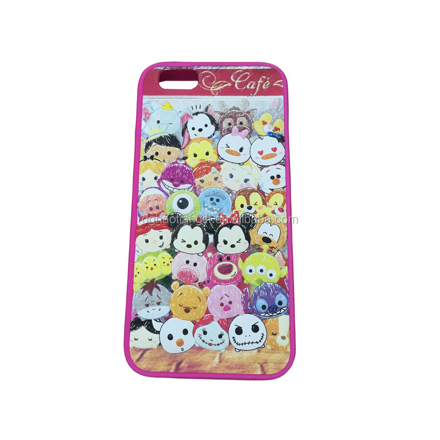 Dongguan factory custom make embossed 3d silicone phone case
