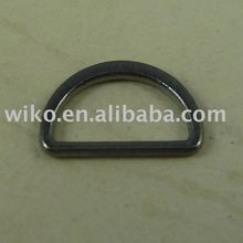 D shape Zinc Alloy buckle